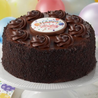 Happy Birthday Chocolate Fudge Layercake