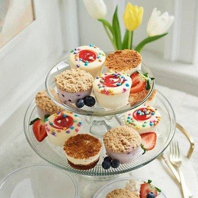 Easter Mini Cheesecake Assortment (18)