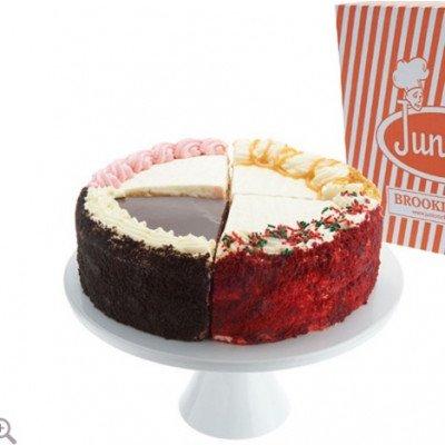Holiday Layercake Cheesecake Sampler