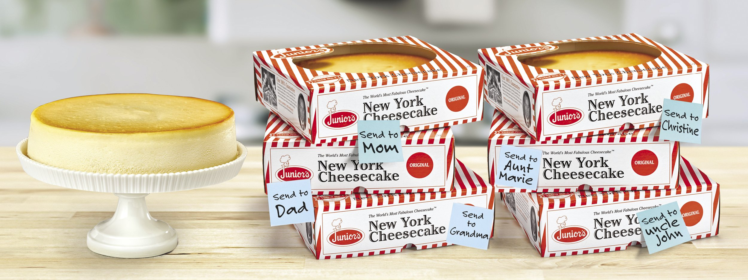 Win Free Cheesecakes